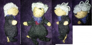 Knitted Sherlock Mouse