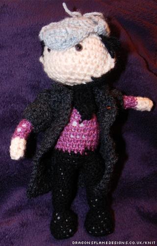 Sherlock Crocheted Amigurumi