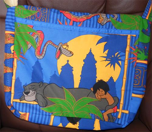 Jungle Book Bag (back)