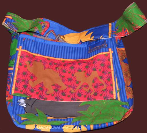 Jungle Book Bag (outer flap)